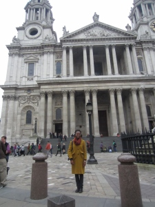 Outside of St. Paul's Church