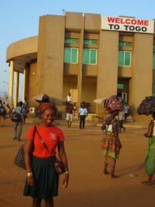 At the Togo Border