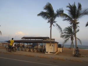 The promenade in Lome