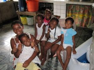 Garifuna girls from Nicaragua
